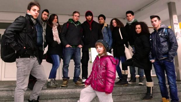 Poza de grup Trupa de dans Anturaj Crew