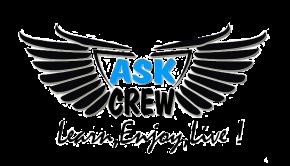 Logo-ul trupei de dans ASK Crew