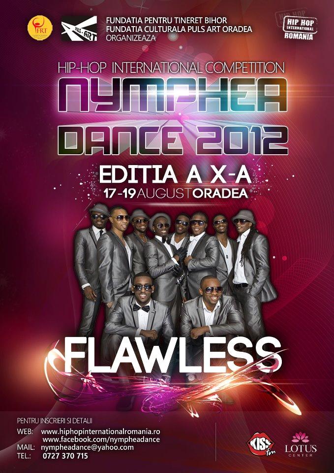 Concursul de dans NYMPHEA DANCE 2012