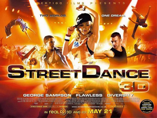 Ideea filmului cu dans street dance 3d se concetreaza in jurul lui