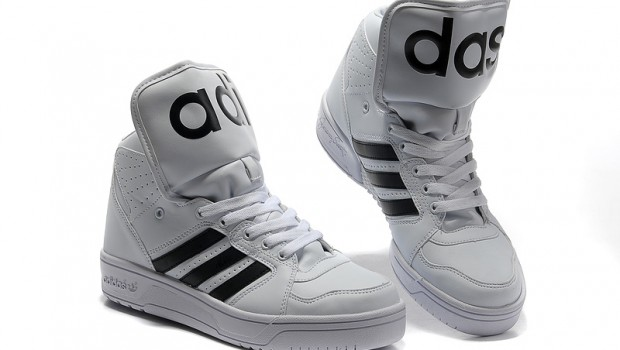 Adidas Model Nou Jeremy Scott adidas Originals JS Instinct Hi White Black