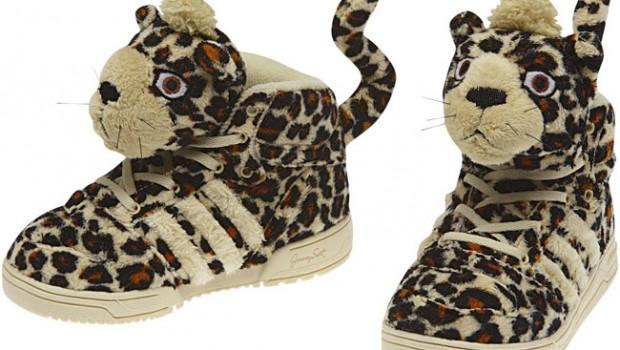 Adidas Model Nou Js Leopard I Textile