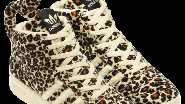 Adidas Model Nou Js Leopard Textile