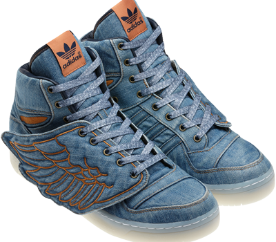 Adidas Model Nou Js Wings Denim Textile