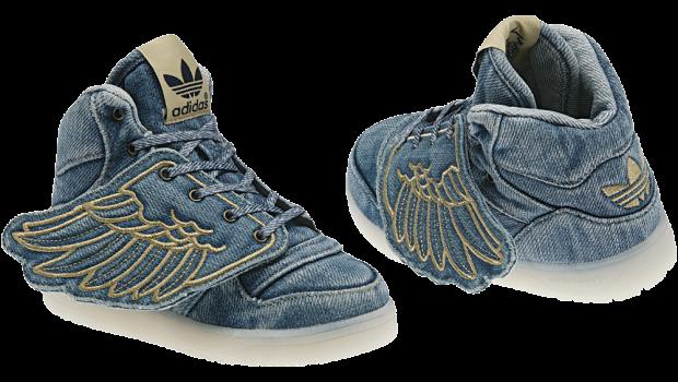 Adidas Model Nou Js Wings Denim Textile