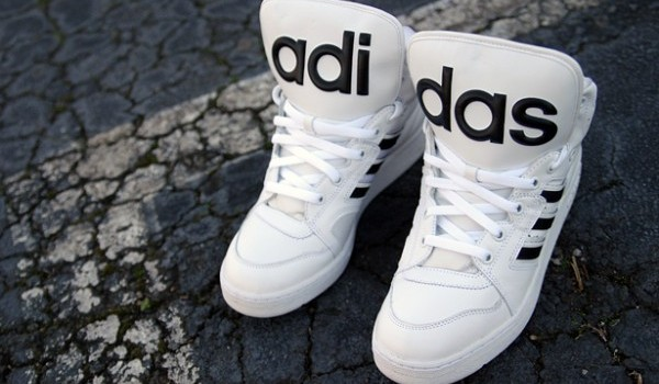 Adidas Model Nou Jeremy Scott adidas Originals JS Instinct Hi White Black