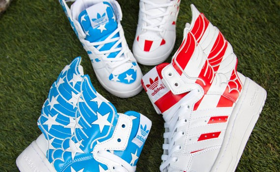 Adidasi Model Nou jeremy scott x adidas originals js wings usa
