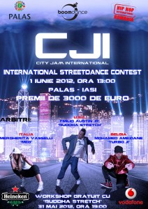 Concurs de StreetDance City Jam International