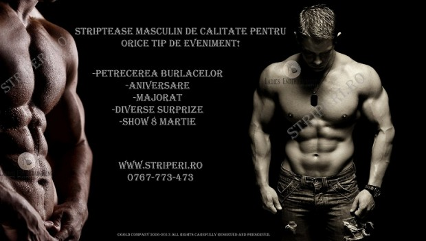 Striptease Masculin Gold Events