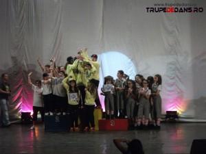 Rezultatele concursului de dans Nymphea Dance 2012