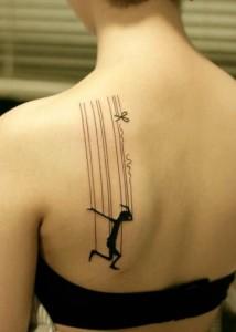 Poza tatuaj dansator 6