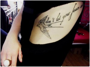Poza tatuaj dansator