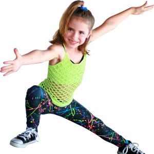 Dansul pentru copii dezvolta creativitatea si imaginatia lor