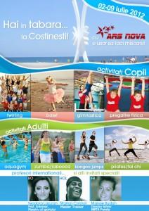 Tabara Sportiva Costinesti