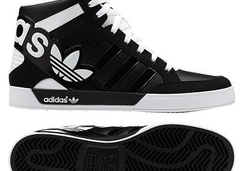 Model Adidas 2013 Hard Court Hi Big Logo Shoes